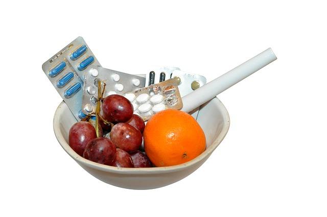 léky a ovoce